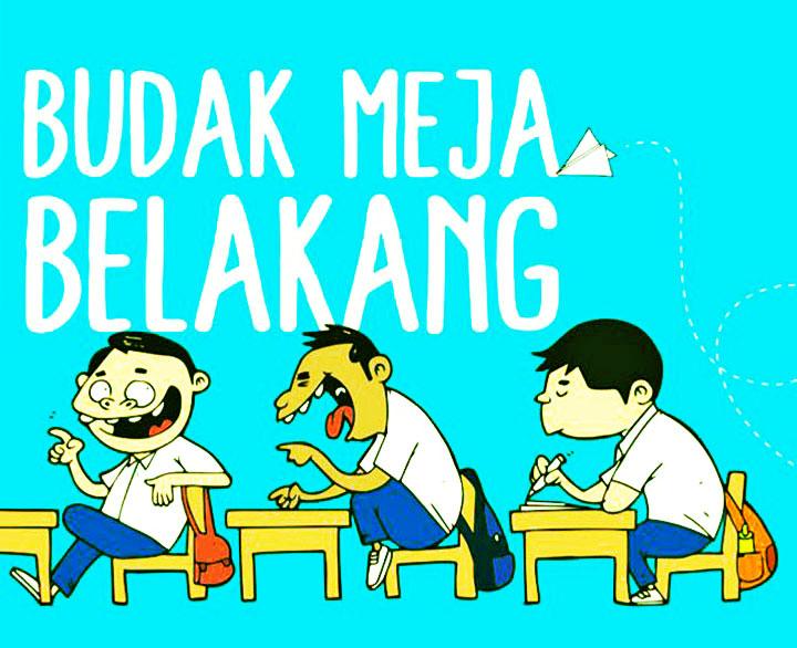 Front Cover Artwork Budak Meja Belakang Shah Ibrahim