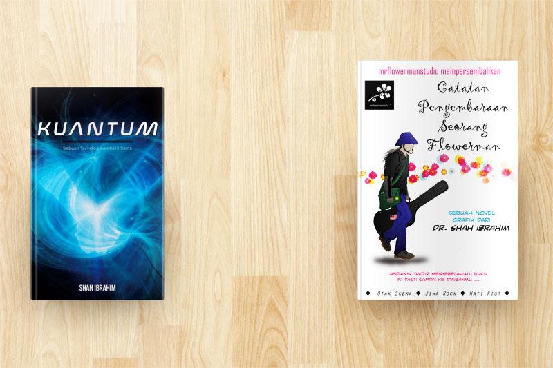 Beza Buku Kuantum Dengan Catatan Pengembaraan Seorang Flowerman