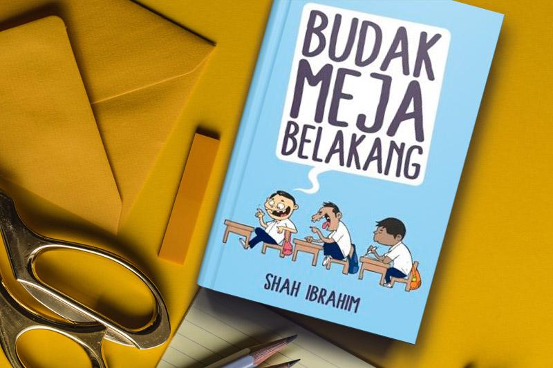 Budak Meja Belakang Shah Ibrahim Meja Alat Tulis