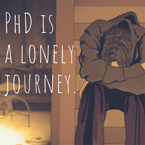 Shah Ibrahim TheMrFlowerman PhD is a Lonely Journey