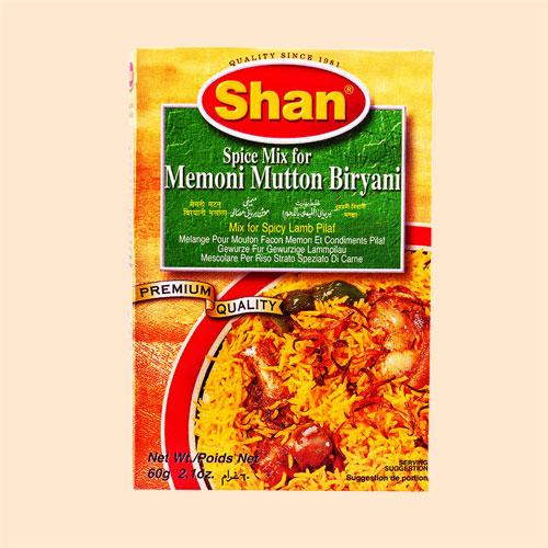 Kuantum Shah Ibrahim Rempah Beriani Kambing Shan