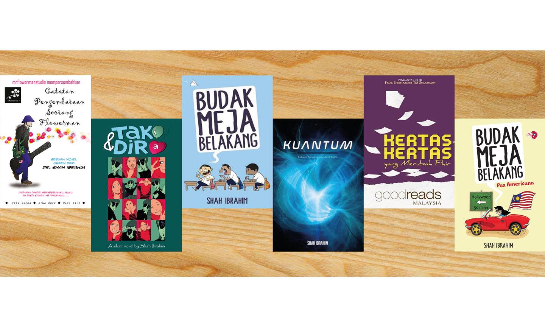 Senarai Karya Shah Ibrahim TheMrFlowerman 6 Buku