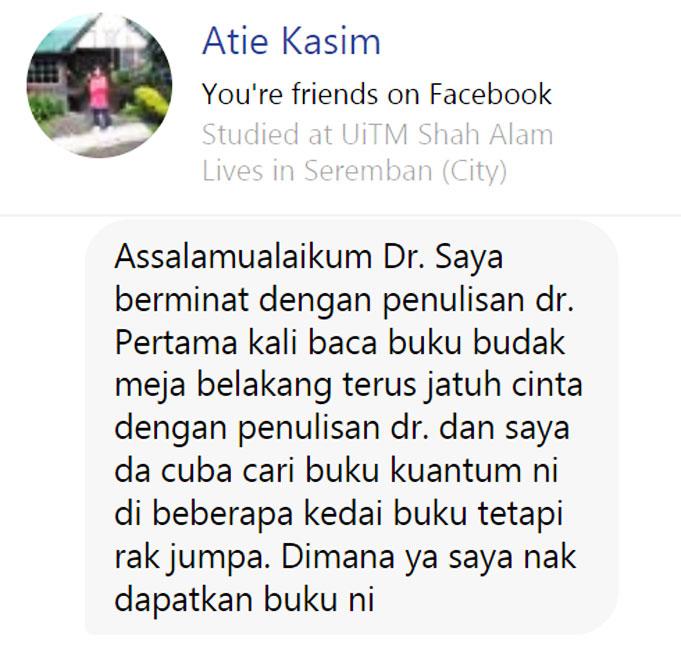 Atie Kasim Ulasan Budak Meja Belakang blog csf