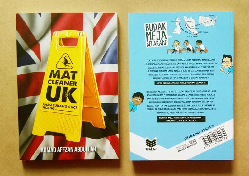 Blurb Budak Meja Belakang Shah Ibrahim Dari Mat Cleaner UK Ahmad Affzan Abdullah