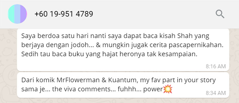 Fadzida Ismail Ulasan Catatan Pengembaraan Seorang Flowerman blog csf