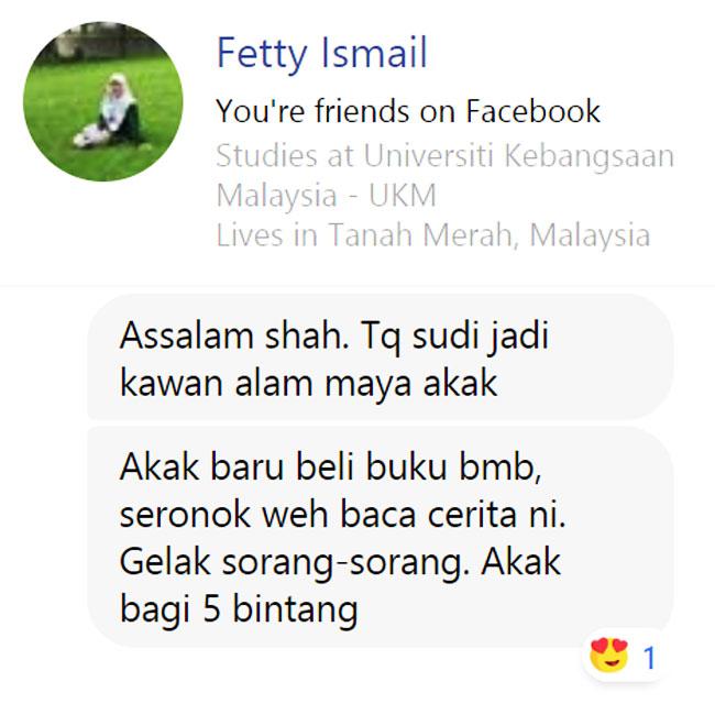 Fetty Ismail Ulasan Budak Meja Belakang blog csf
