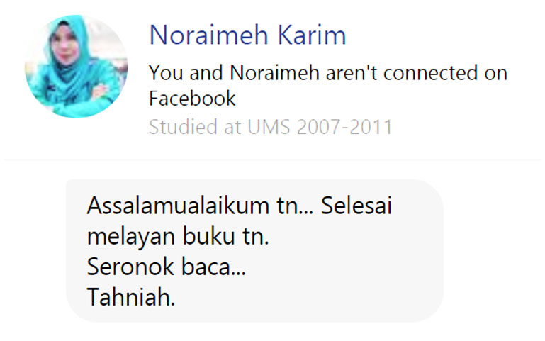 Noraimeh Karim Ulasan Budak Meja Belakang blog csf