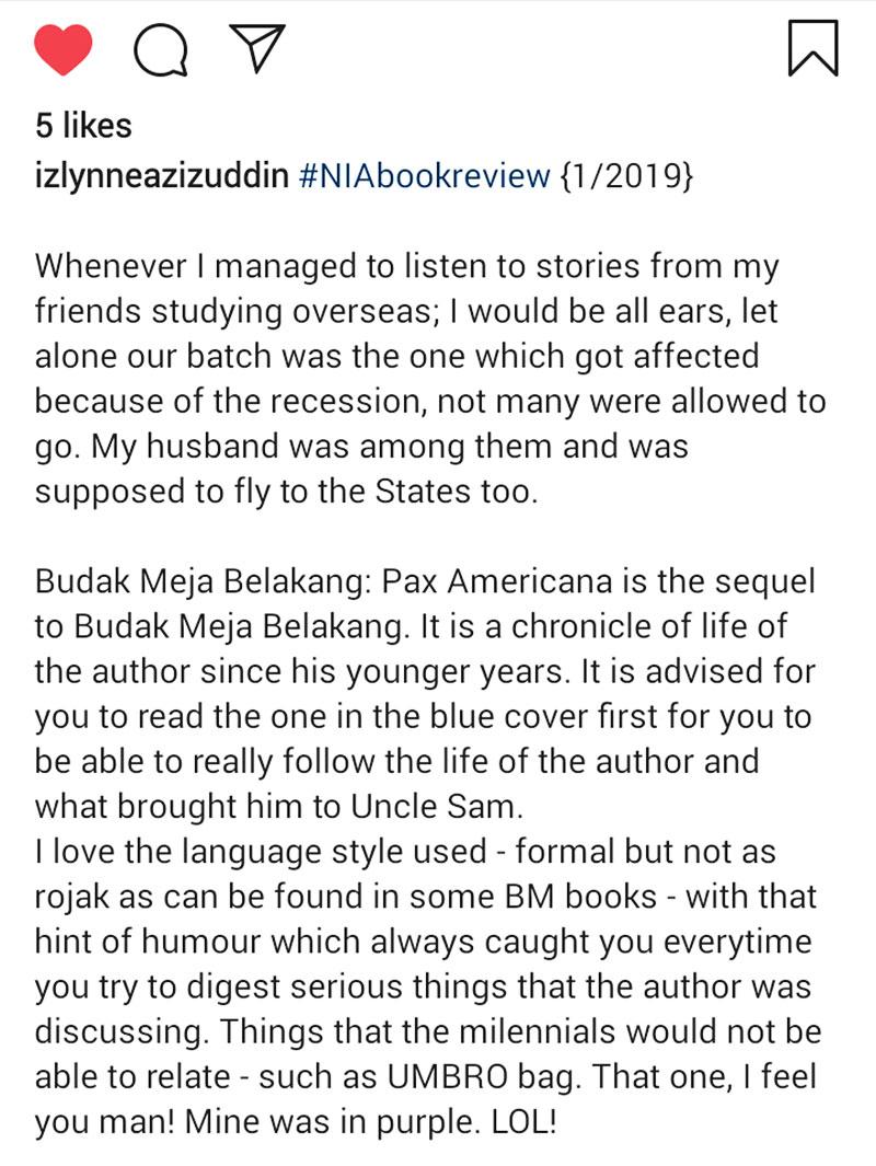 Izlynneazizuddin Ulasan Budak Meja Belakang Pax Americana Blog csf Bhgn A