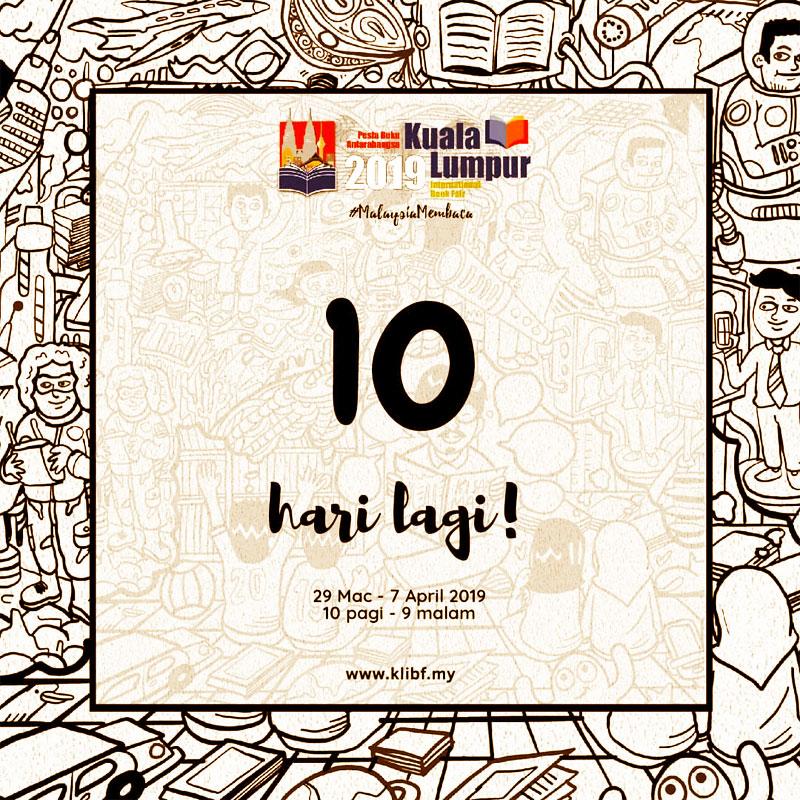 PBAKL 2019 Countdown 10 Hari Blog Coretan Sang Flowerman