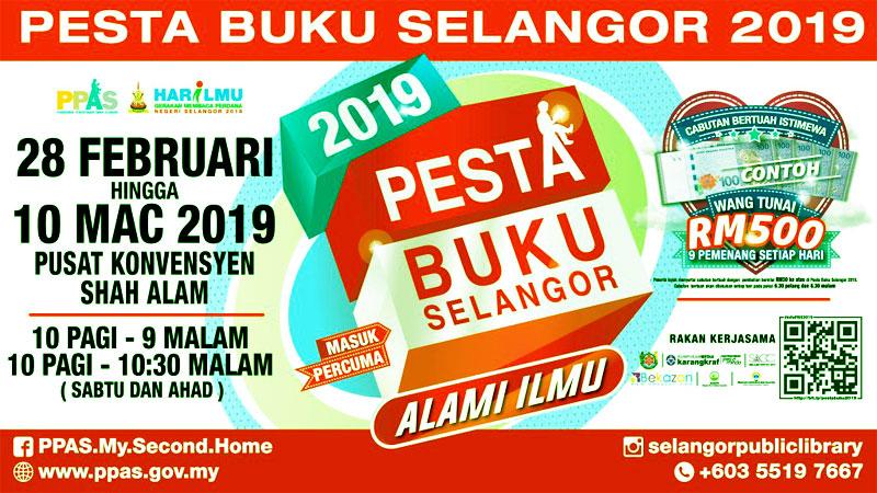 Pesta Buku Shah Alam Selangor 2019 Blog Coretan Sang Flowerman
