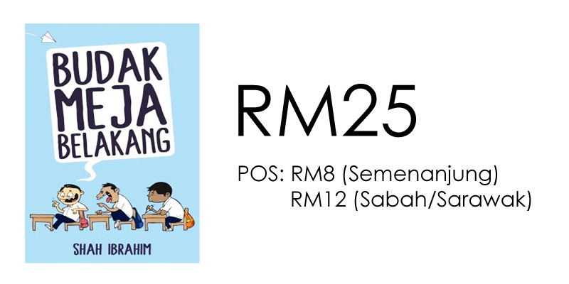 Harga Buku Budak Meja Belakang Shah Ibrahim RM25