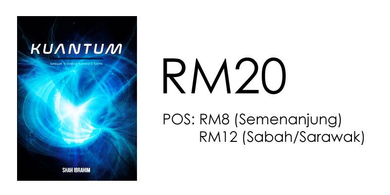 Harga Buku Kuantum Shah Ibrahim RM20