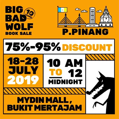 Big Bad Wolf Sale Penang July 2019