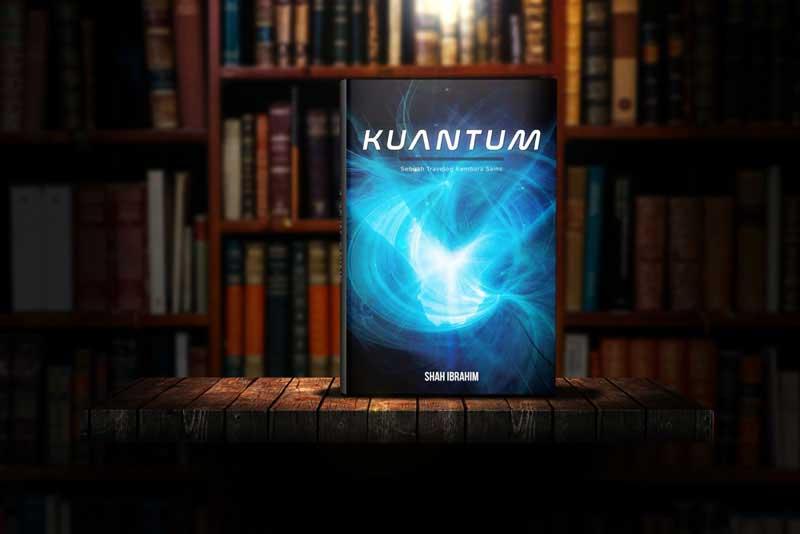 Buku Kuantum Shah Ibrahim Dalam Library Gelap