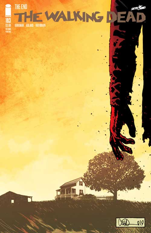 The Walking Dead Comic Final Issue 193 Blog Coretan Sang Flowerman