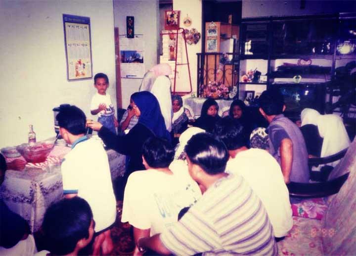 Budak Meja Belakang Shah Ibrahim Ziarah Rumah Cikgu Jauni Filtered