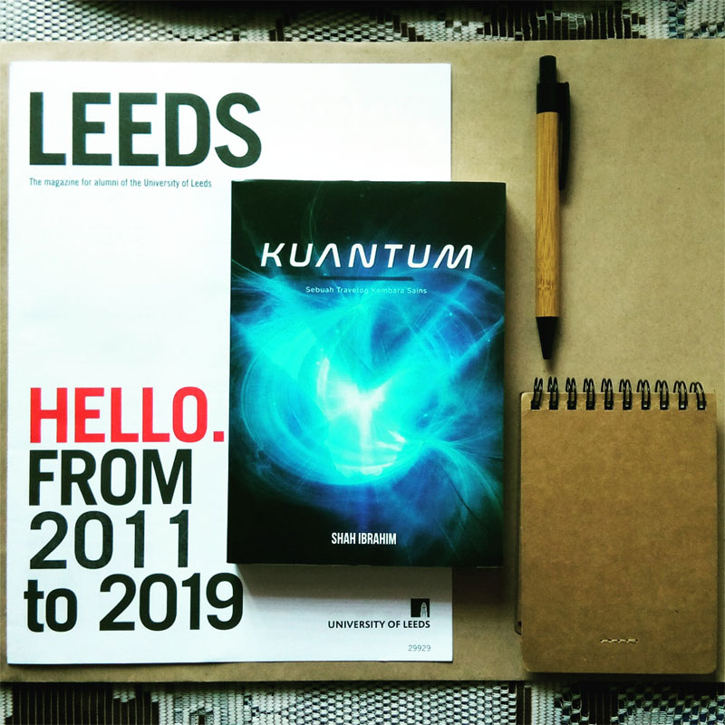 Kuantum Shah Ibrahim Leeds Alumni Magazine 2019